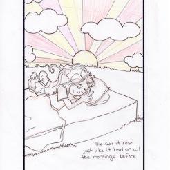 Waking Sketch